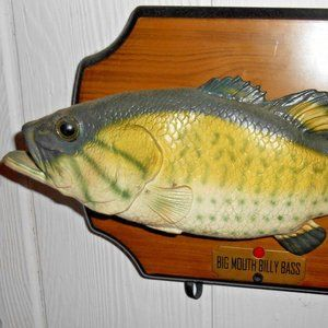 Vintage Big Mouth Billy Bass Gemmy Novelty Decor